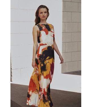 Soaked in Luxury 30404716 SLMillia Maxi Dress