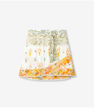 Alix the Label 203277552 Ladies woven fancy mix skirt