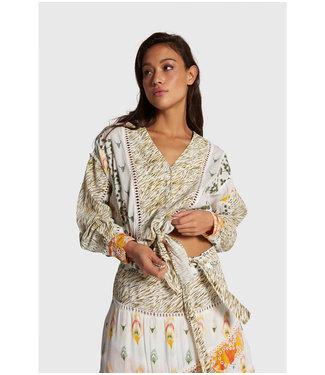Alix the Label 203977554 Ladies Woven fancy mix blouse