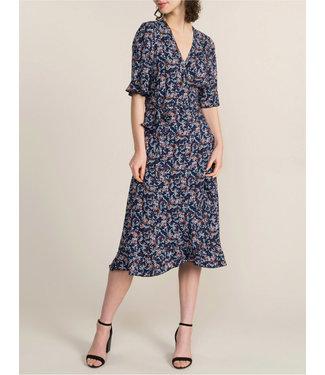Summum Woman 5s1186-11302F Wrap dress short slv