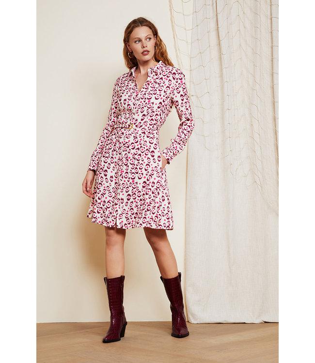 Fabienne Chapot Hayley dress Leopard Lashes
