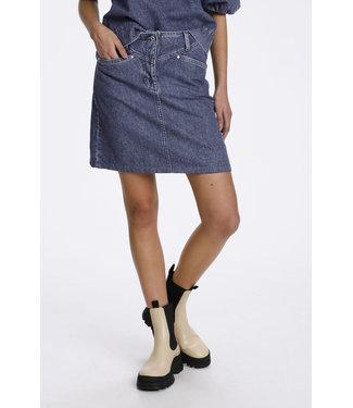 Soaked in Luxury Neel denim skirt