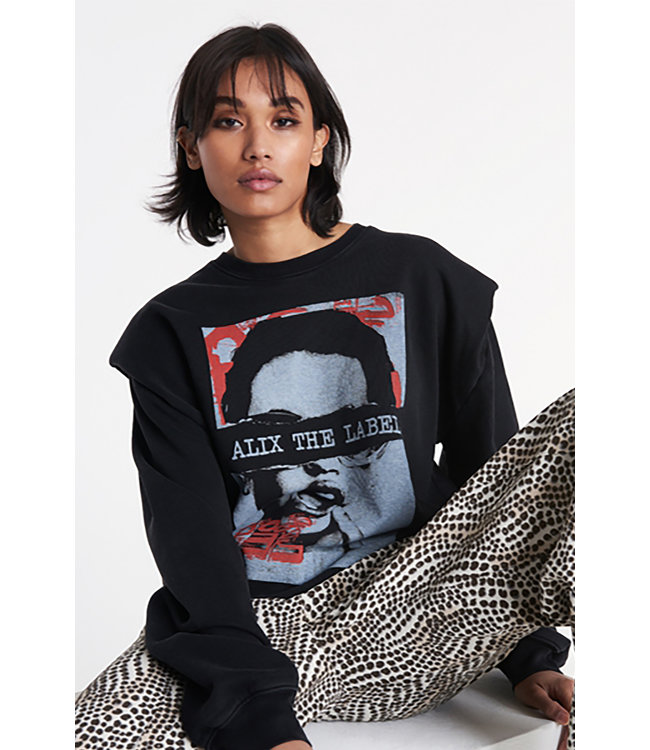 Alix the Label Ladies knitted organic photo oversized sweater