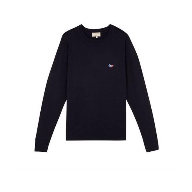 Virgin Wool R Neck Pullover