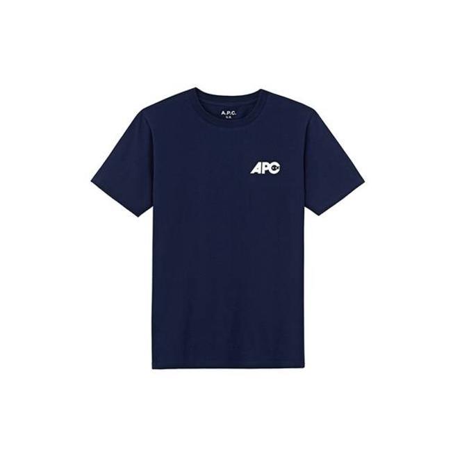 A.P.C. US T-Shirt Burnette Navy