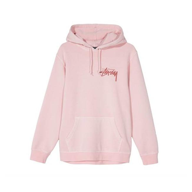 Stock Pig Dyed Hood Blush
