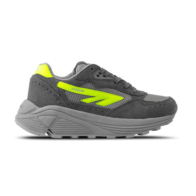 Silver Shadow HTS Grey/Neon Yellow