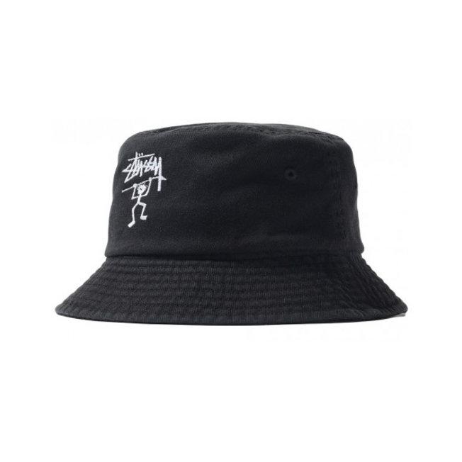 Warrior Man Bucket Hat Black