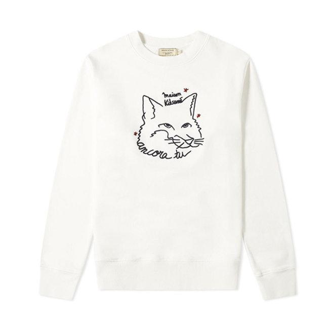 Sweatshirt Ancora Ecru