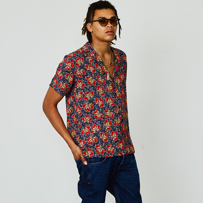 Cave S/S Red Lotus