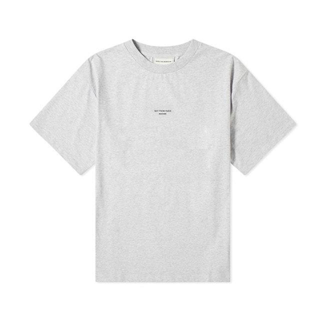 DDM NFPM T-Shirt Grey