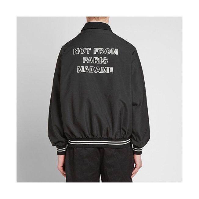 DDM NFPM Varsity Jacket Black