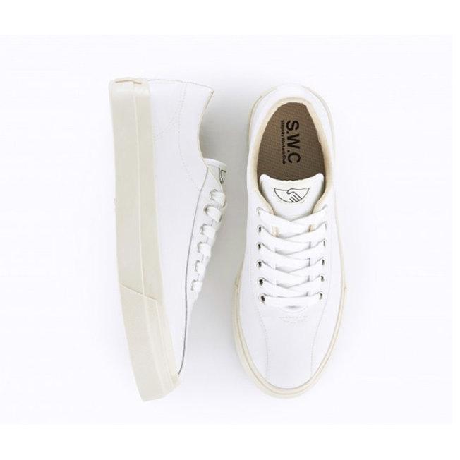 S.W.C. Dellow Leather Sneaker White