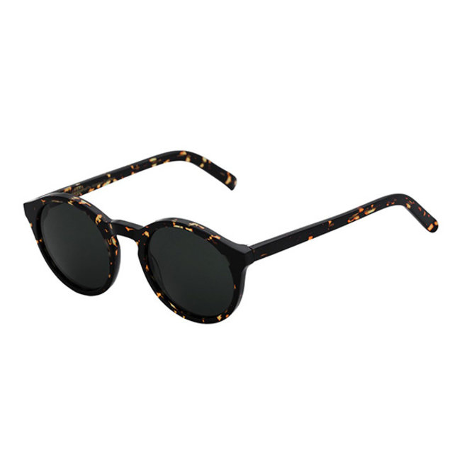 Barstow Brown Tortoise Solid Grey Lens