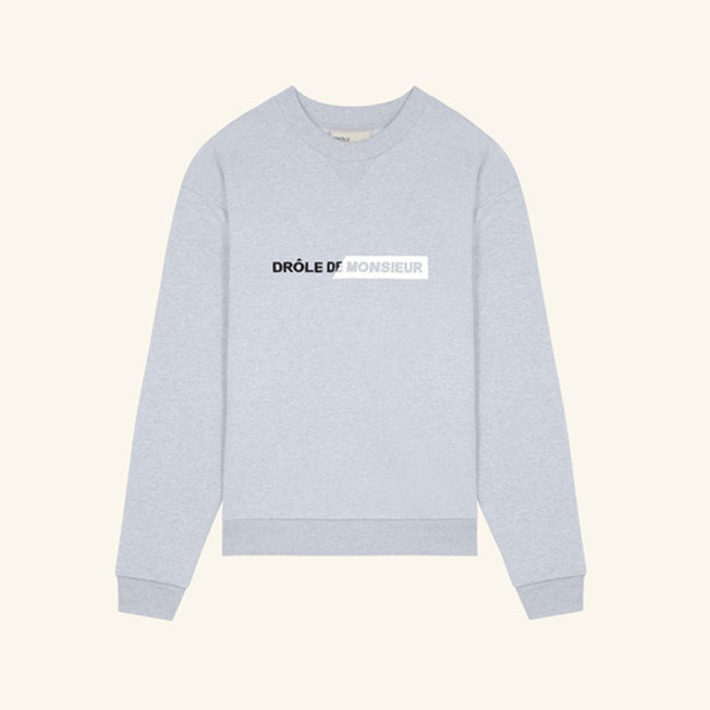 Branded Sweatshirt Grey