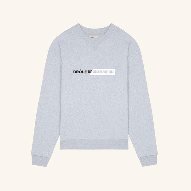 Branded Sweatshirt Grey