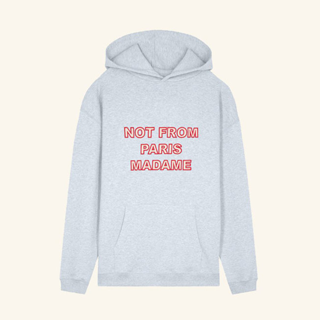 NFPM Embroidered Hoodie Grey