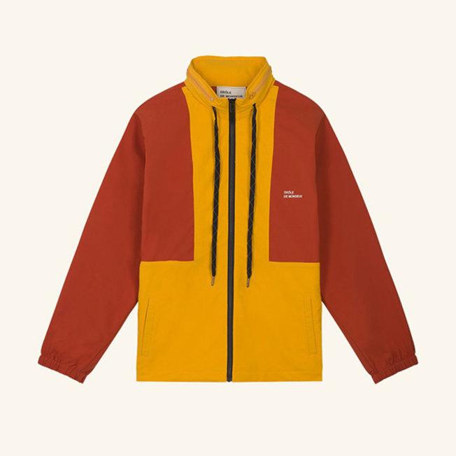 NFPM Windbreaker Yellow/Rust