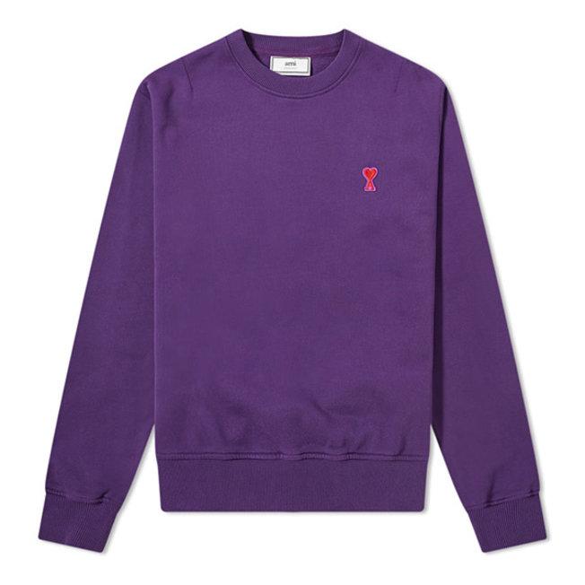 AMI de Coeur Crewneck Pale Purple