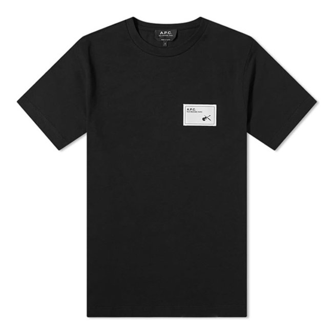 Patch Logo Pepper Tee Black