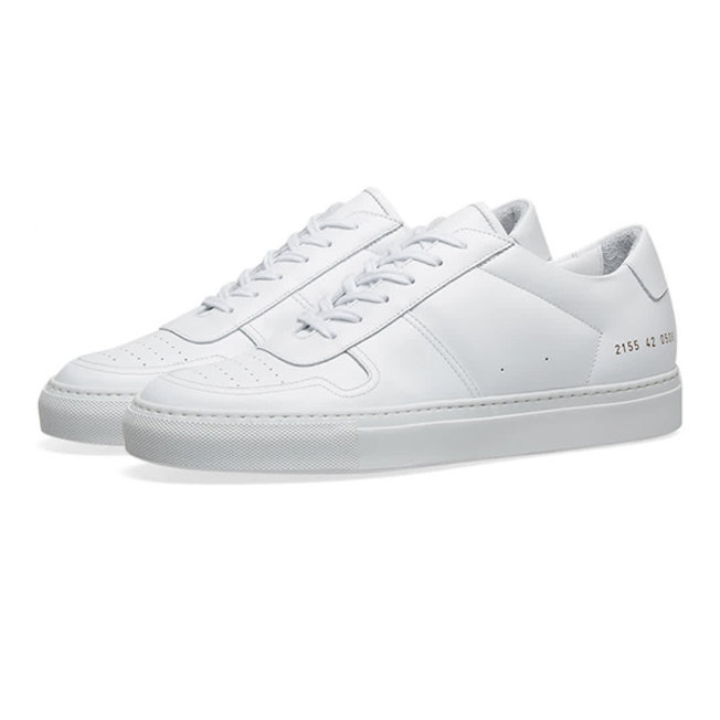 Bball Low White Leather
