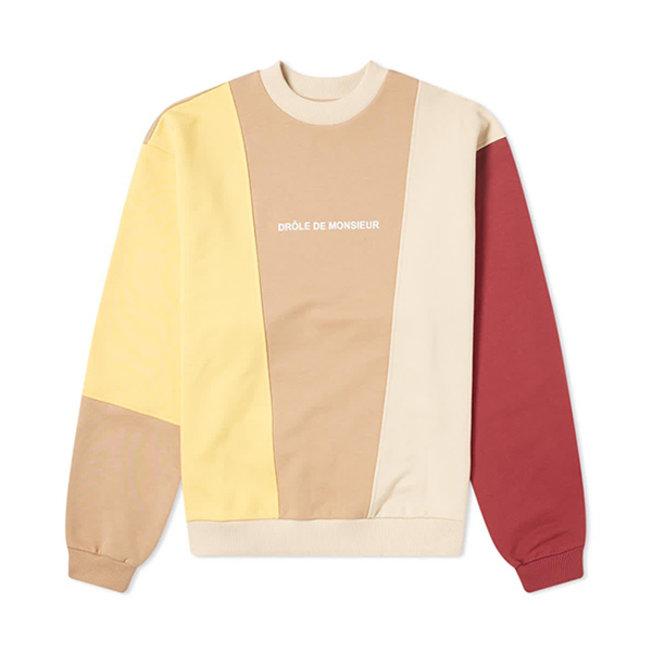 Color Block Logo Sweatshirt Multicolor