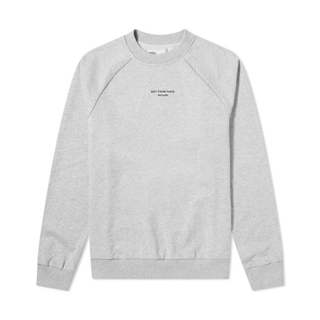 Raglan NFPM Sweatshirt Grey