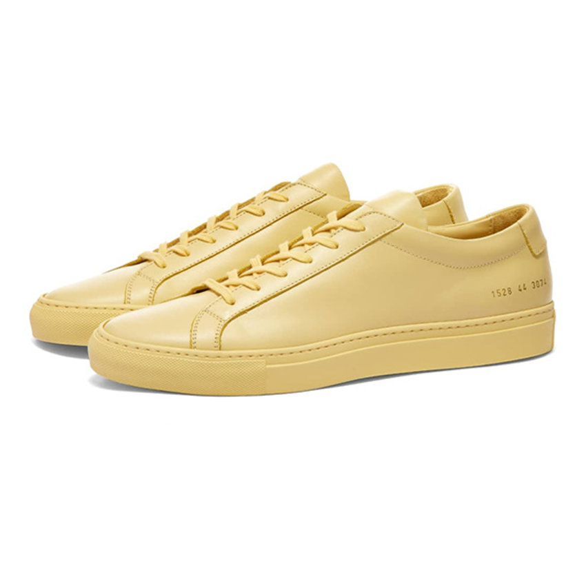 Common Projects Achilles Low Yellow
