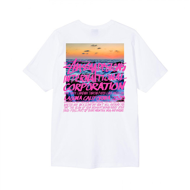 Clear Day Tee White