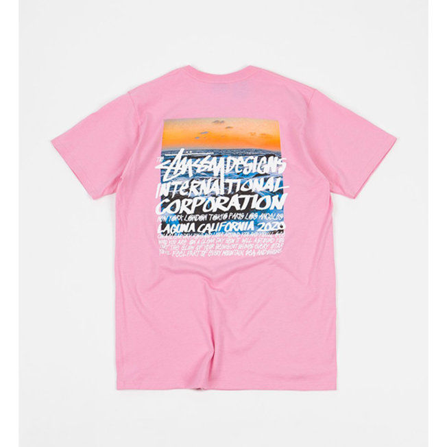 Clear Day Tee Pink