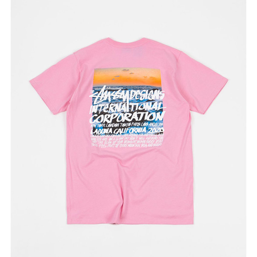 Stussy Clear Day Tee Pink