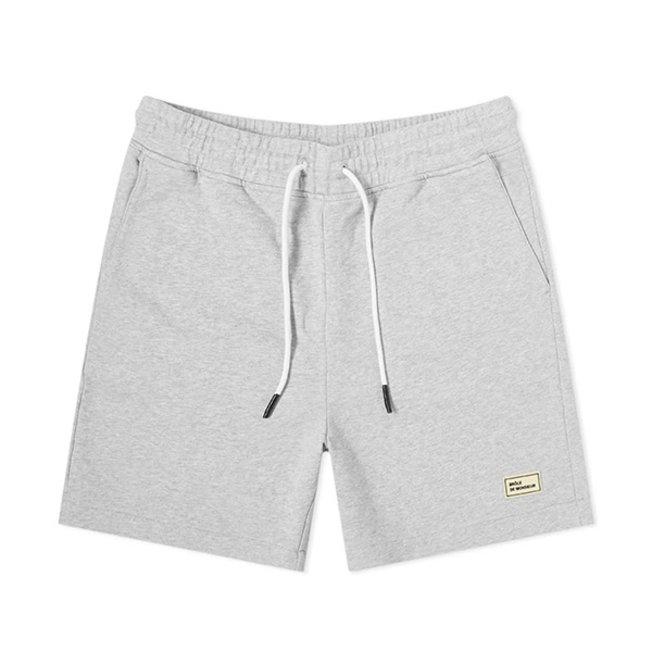 DDM Fleece Regular Short Grey