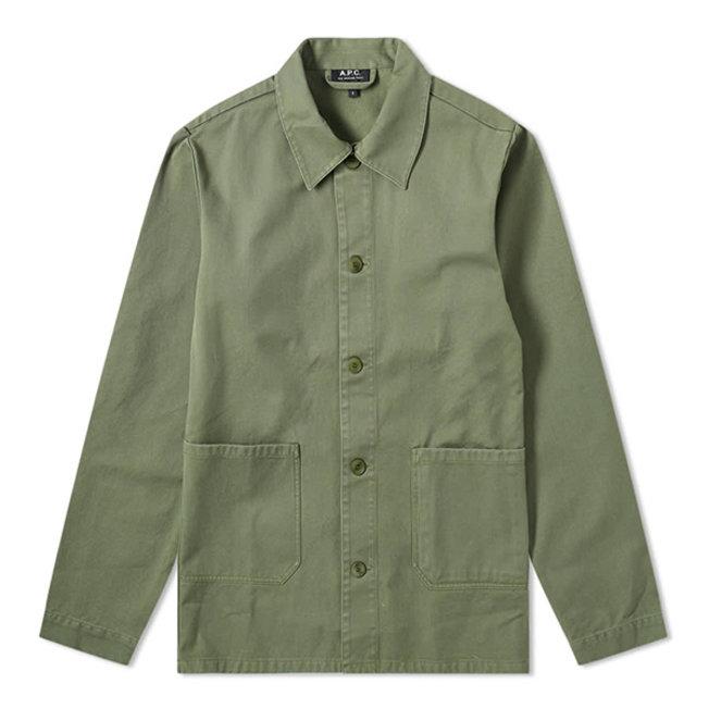 Kerlouan Work Jacket Dark Green