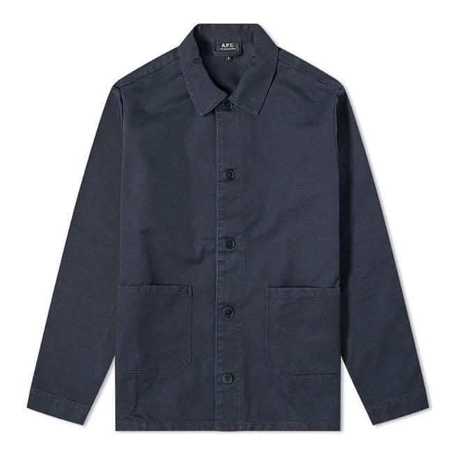 Kerlouan Work Jacket Fake Black