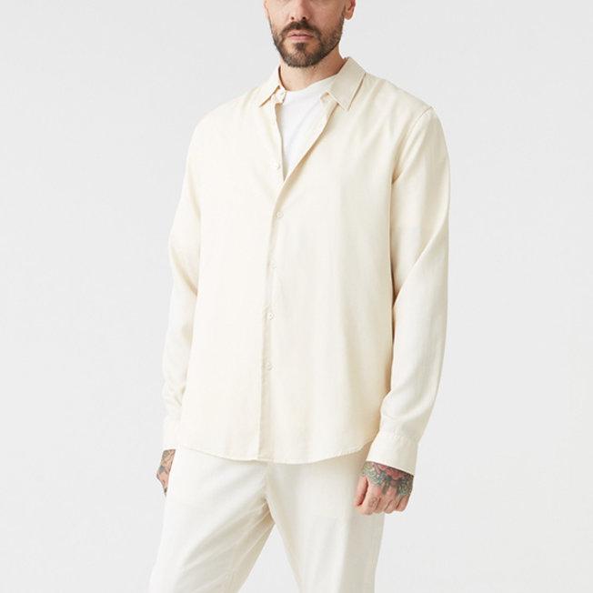 Air Clean Shirt Soft Beige