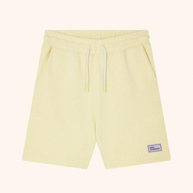 DDM Fleece Regular Short Yellow