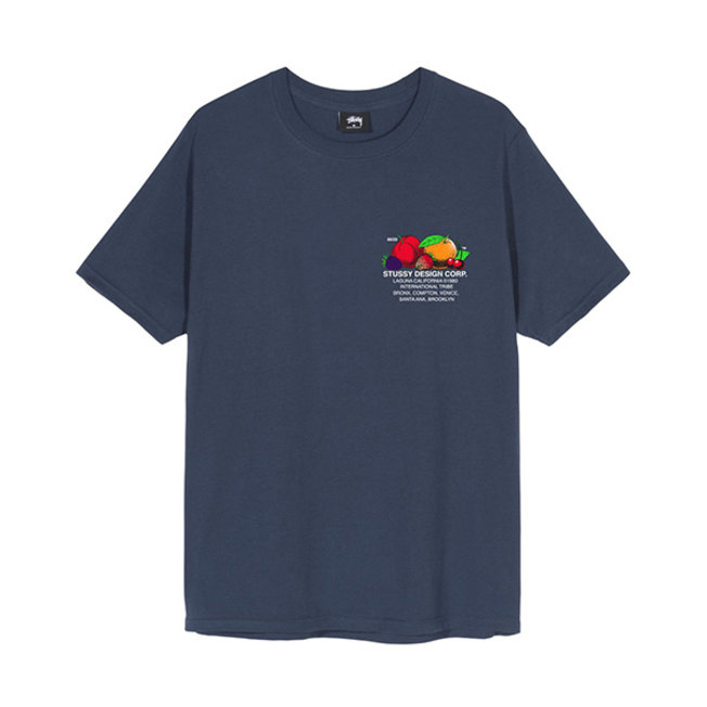 Fresh Fruit Tee Navy