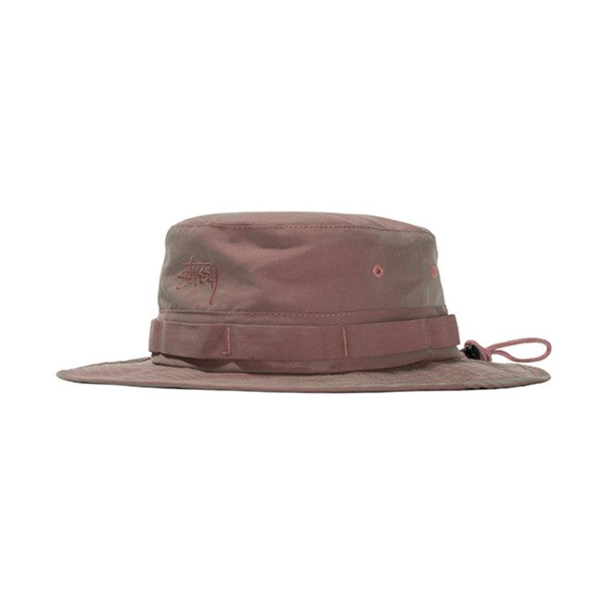 Stussy Iridescent Boonie Hat Red