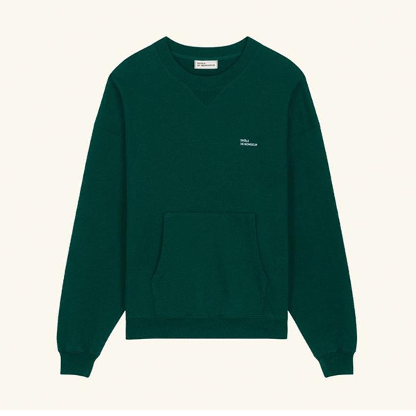 Drole De Monsieur Classic Sweatshirt Green