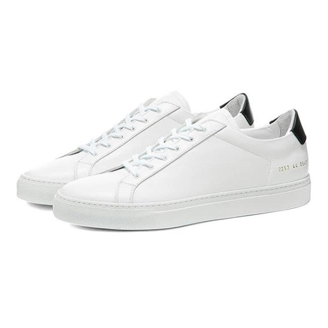 Achilles Retro Low White