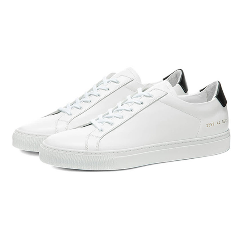 Common Projects Achilles Retro Low White