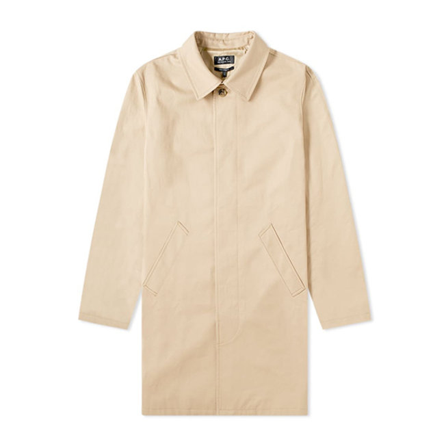 A.P.C. City Mac Beige