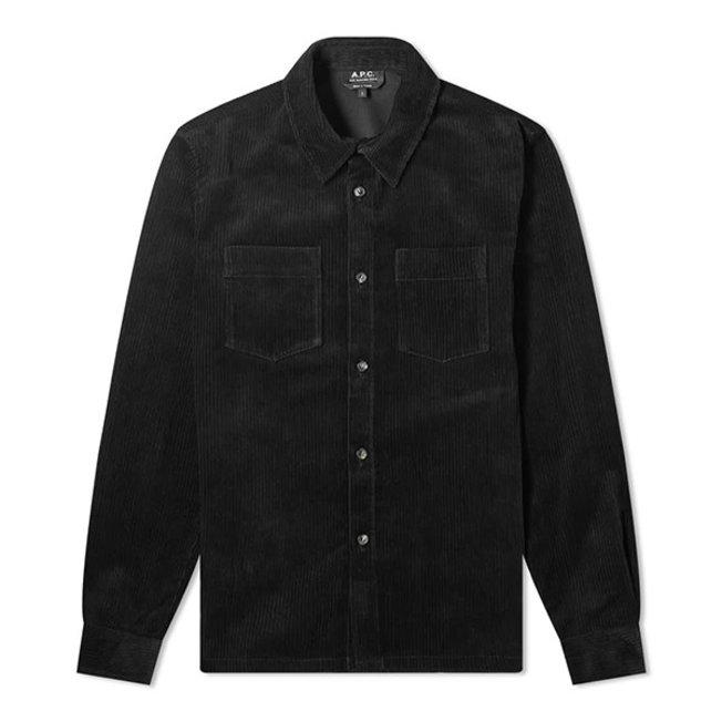 A.P.C. Joe Shirt Rib Black