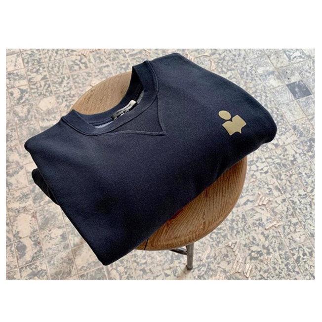 Mike Sweat Shirt Faded Black