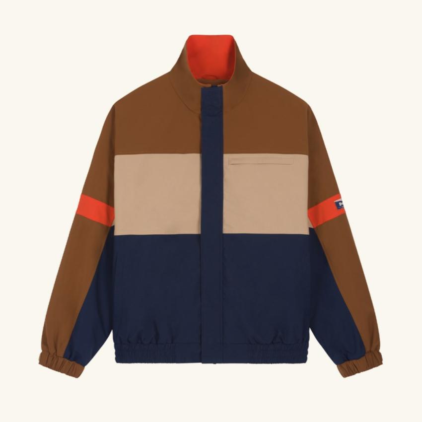 Drole De Monsieur DDM Color Block Striped Jacket Multi