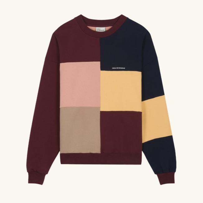 DDM Color Block Sweatshirt Multi
