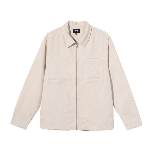Micro Suede Work Shirt Naturel