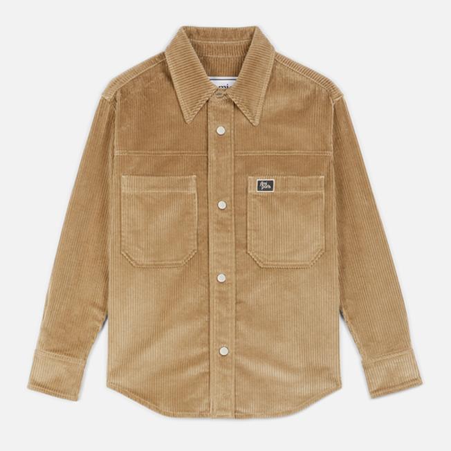 AMI Oversized Overshirt Corduroy  Beige