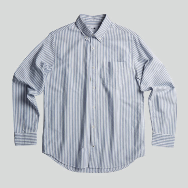 Levon Shirt 5142 Stripe Blue