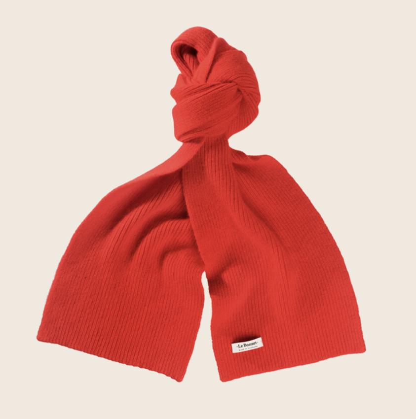 Le Bonnet Le Bonnet Scarf Crimson